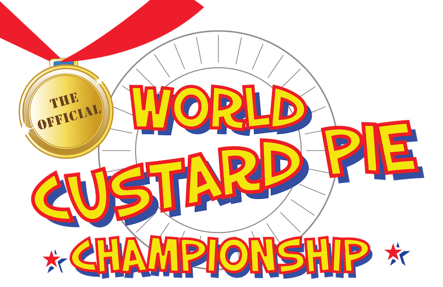 World Custard Pie Championship Logo